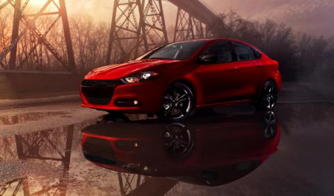 Dodge Dart Blacktop lateral
