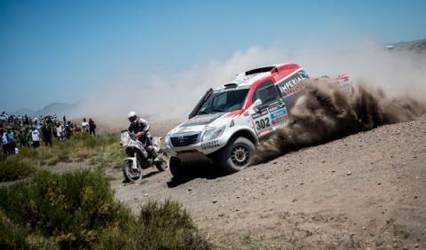 De Villiers Toyota Dakar