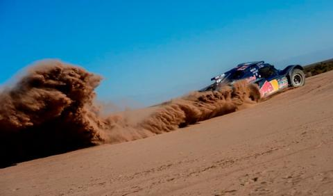 Carlos Sainz Rally Dakar 2014