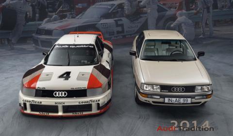 Audi Tradition calendario