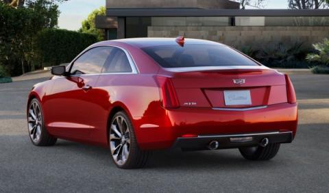 Trasera del Cadillac ATS Coupé
