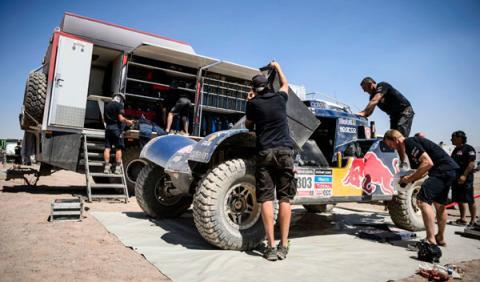 Buggy Carlos Sainz Rally Dakar 2014