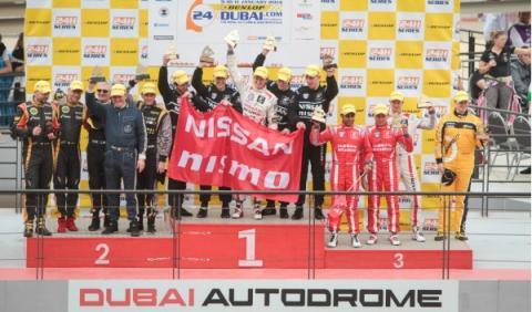 Lucas Ordóñez, triunfo en las 24 Horas de Dubai 2014