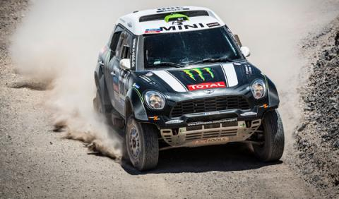 Rally Dakar 2014 Stephane Peterhansel MINI