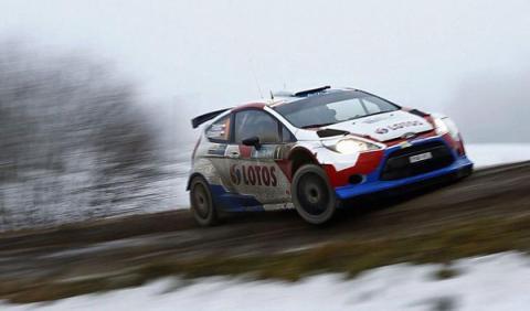 Kubica gana los dos primeros tramos del Rally de Montecarlo