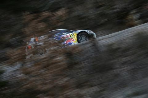 Rally Montecarlo 2014, etapa 2: Ogier líder, Kubica fuera