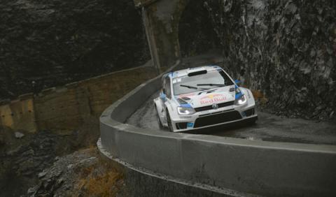 Rally Montecarlo 2014 Ogier