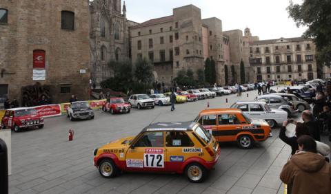 Rally Montecarlo Histórico 2014 coches