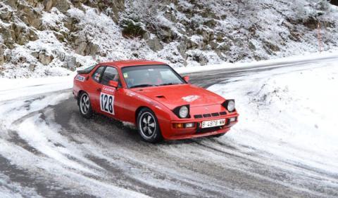 Rally Montecarlo Histórico 2014 Porsche