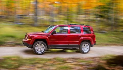 el actual Jeep Patriot, modelo al que sustituirá el Jeepster 2014