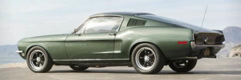 Ford Mustang Fastback 1968 Bullit recreación