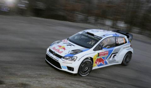 Sebastien Ogier VW Polo R WRC Montecarlo