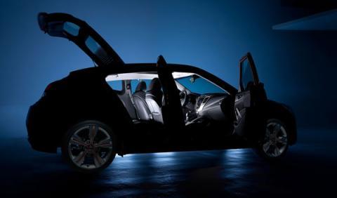 El Hyundai Veloster 2012 será presentado en el Salón de Det