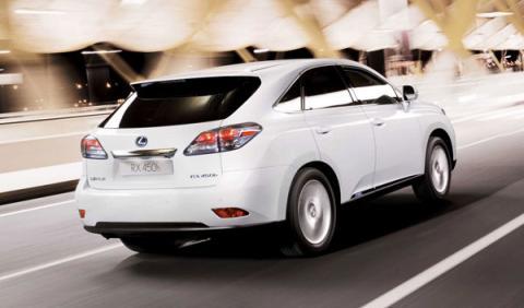 Lexus lanza la versión 2011 del híbrido RX 450h