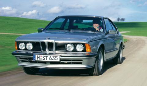 BMW 635 CSi frontal