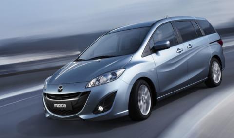 Fotos: El nuevo Mazda5 se presenta en el Salón de Ginebra