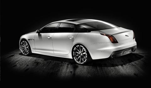 Fotos: Jaguar XJ75 Platinum Concept