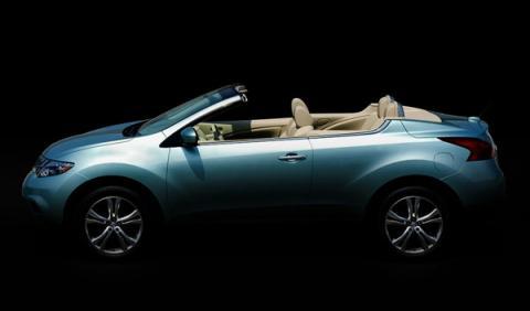 Fotos: Nissan Murano Crosscabriolet 2011