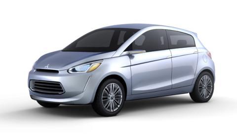 Fotos: Mitsubishi presentará su concept Global Small en el