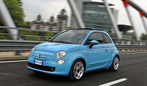 Fiat 500 Twin Air frontal