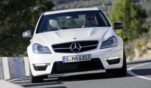 Mercedes C 63 AMG frontal