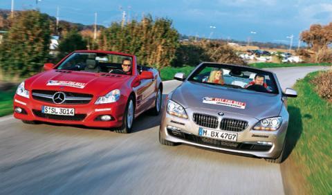 bmw serie 6 650i cabrio mercedes sl 500 nuevo descapotable deportivo