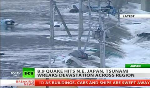 El terremoto y el 'tsunami' paralizan la fabricación de Honda, Toyota y Nissan en Japón