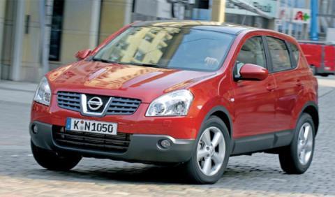 Nissan Qashqai SUV test crossover 2.4