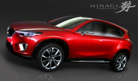 El SUV de Mazda se llamará CX-5