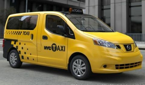 Nissan NV200 Taxi exterior