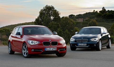 nuevo-bmw-serie-1-motor-turbo-cambio-automatico-ocho-velocidades-vista-frontal