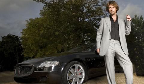 Jamiroquai, de gira por España en un Maserati Quattroporte