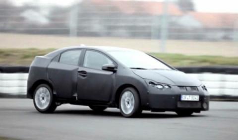 Honda presentará el nuevo Civic en Frankfurt