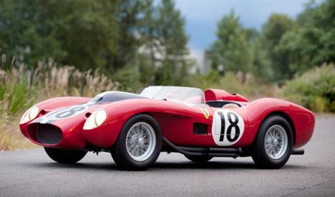 Se subasta un Ferrari Testarossa 250 por 10,3 millones
