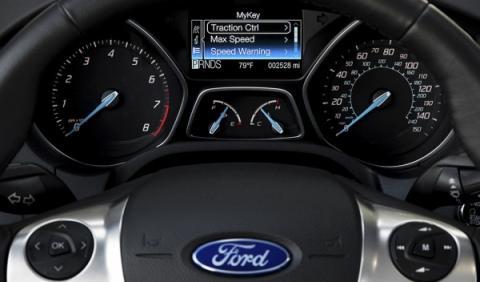 Controla la conducción de tus hijos con MyKey de Ford