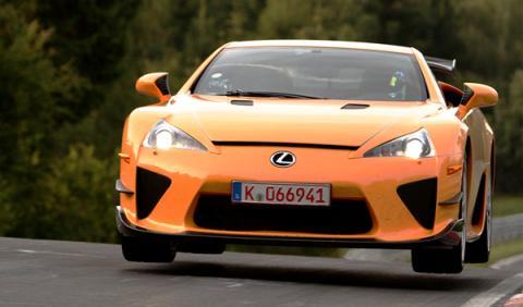 El Lexus LFA bate el récord en el circuito de Nürburgring
