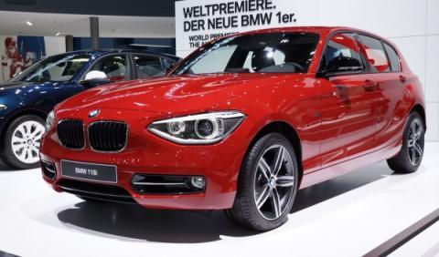 El nuevo BMW Serie 1, estrella del Teatro Español en Madrid