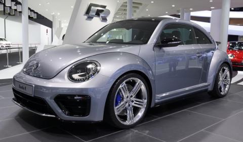 Volkswagen Beetle R, Polo y Tiguan R-Line en Frankfurt