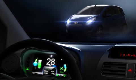 Chevrolet Spark EV, un nuevo coche eléctrico para 2013