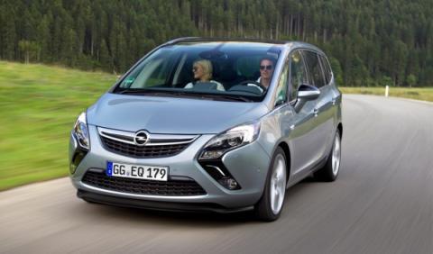 Nuevo Opel Zafira Tourer: en noviembre desde 19.965 euros