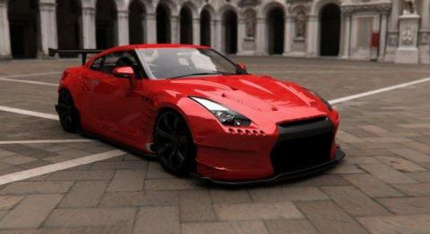 Nissan GT-R BenSopra frontal lateral