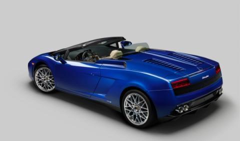 Lamborghini Gallardo LP 550-2 Spyder, el superdeportivo