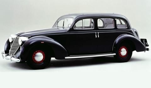 Subastado un Fiat 2800, uno de los coches de Mussolini