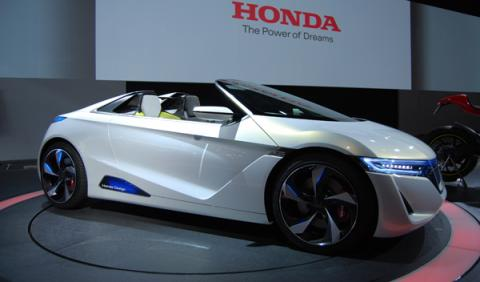Honda EV-STER Salón de Tokio 2011