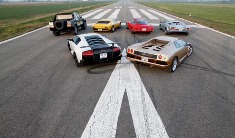 Seis Lamborghini V12