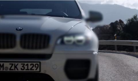 BMW X6 M diésel delantera