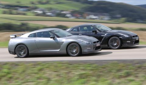 Todos los Nissan GT-R, cara a cara en Motegi