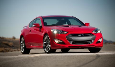 Hyundai Genesis Coupe frontal