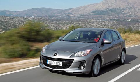 Mazda3 2012 frontal