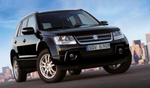 Suzuki Grand Vitara Black & White, más llamativo y equipado
